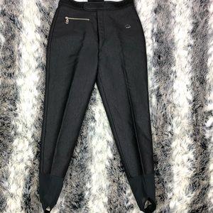 Bogner stirrup ski pants women's